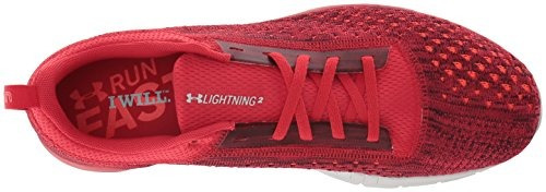 under armour hombre lightning 2, spice rojo 44/col 12 us