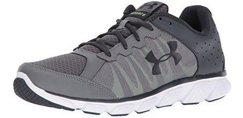 under armour hombre micro g assert 6, grafito 44/col 12 us