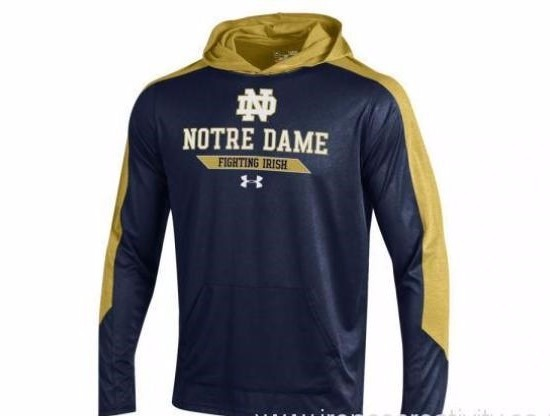 Under Armour Ncaa Notre Dame Irish Heat Gear Loose Sudadera