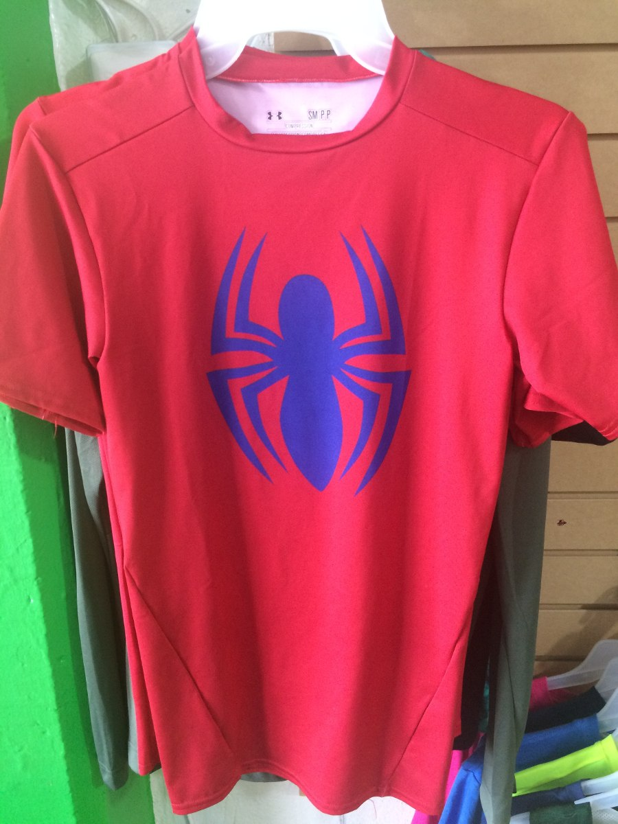 d4731a6d9da8d under armour playera compression marvel alter ego spiderman. Cargando zoom.