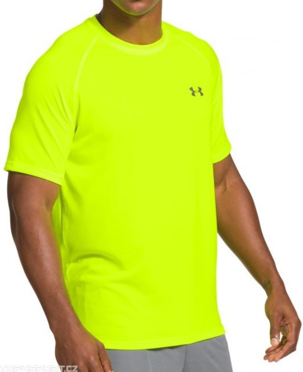 17c5ebcd767a3 under armour playera tech para hombre verde fosforesente. Cargando zoom.