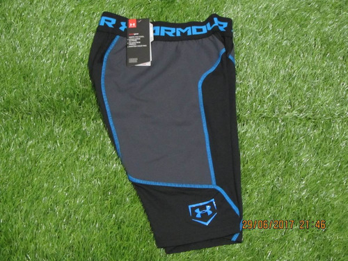 under armour sliding short airven negro mediano adulto 30-32