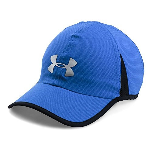 under armour sombra de hombre 4.0 run cap, lapis azul medio