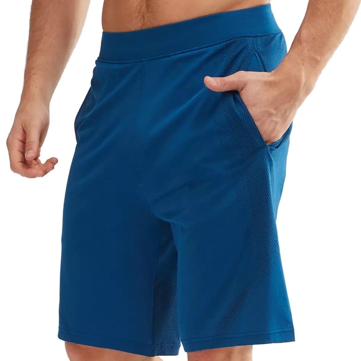0a1d85f4 Under Armour Threadborne Seamless Shorts Para Hombre -- Azul
