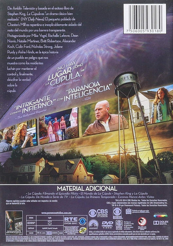 under the dome la cupula primera temporada 1 uno dvd