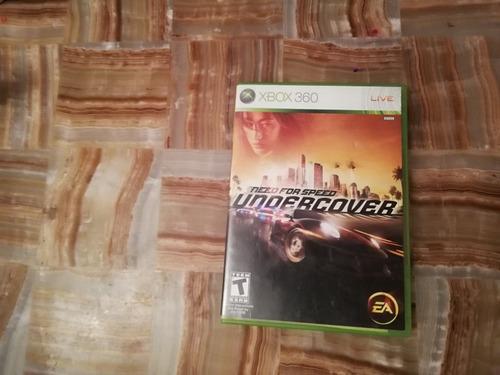 undercover xbox 360 video juego xbox 360