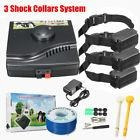 underground in-ground waterproof electric dog pet fence 3 sh