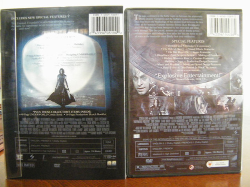 underworld (unrated extended edition)/ underworld evolution