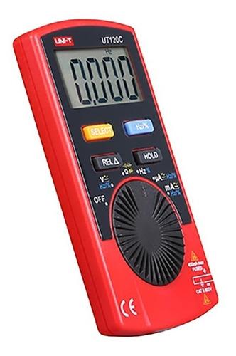uni-t multímetro de bolsillo ut120c corriente capacitancia