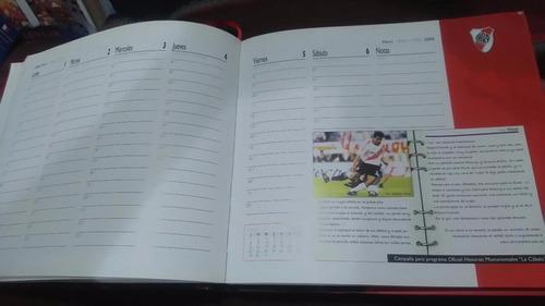 única agenda 2006 club atlético river plate tapas duras