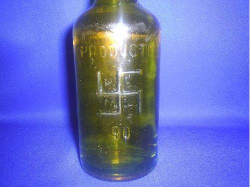 unica ! antigua botella de energina, lubricante para motores