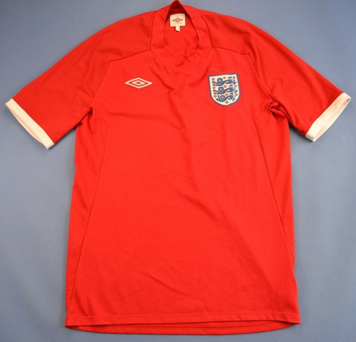 unica camiseta umbro seleccion inglaterra temporada 2010/11