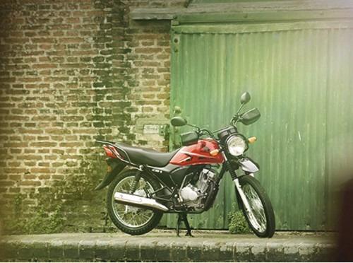 unica honda cb 1 tuff 125 cc naranja 0 km sin rodar