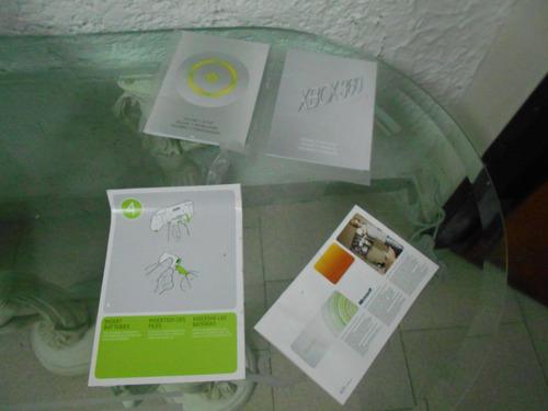 unicamente caja para xbox 360 y manuales de uso en oferta