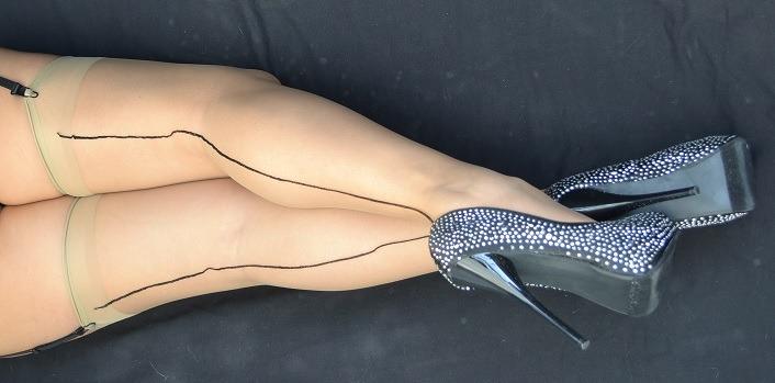 unicas¡¡¡ medias hiper sexys bicolor con linea atras