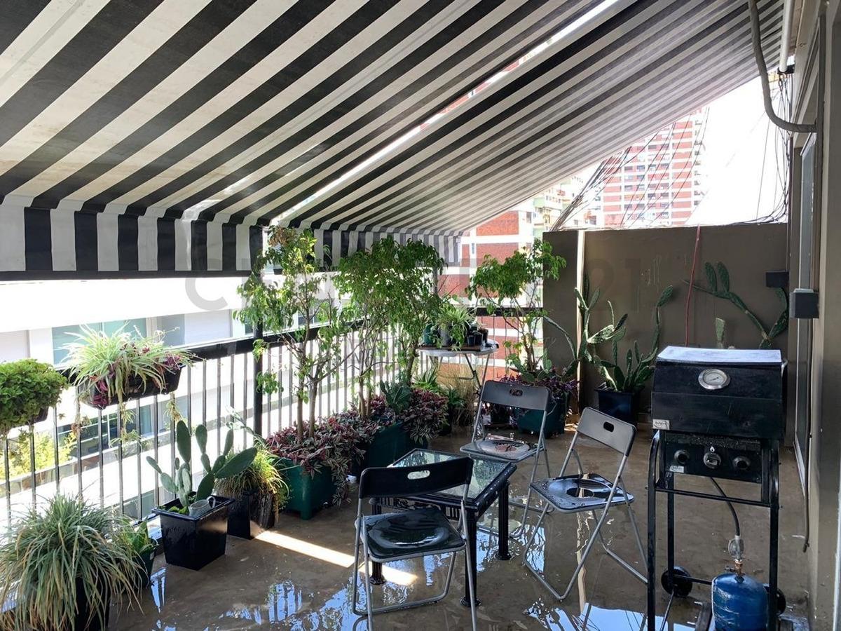 único 4 ambientes con terraza en cañitas muy luminoso