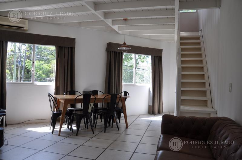 único departamento con amplia terraza privada centro de pilar!!!!