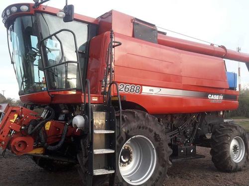 unico dueño, con solo 2000 hs cosechadora case 2688 4x4 2013