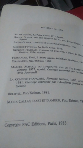 único en francés charlot jacques lorcey,  libro de chaplin
