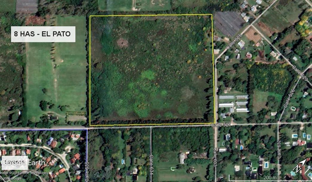 único terreno para desarrollo en zona ya consolidada ! -  superficie total 7.7 has - apto loteo