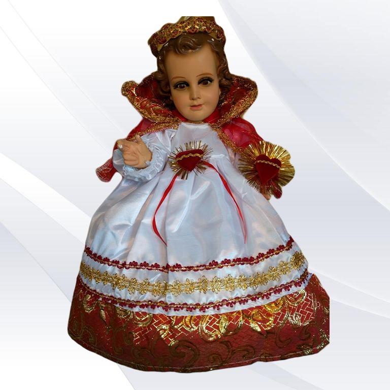 único Vestido Niño Dios Sagrado Corazón Unidades Limitadas