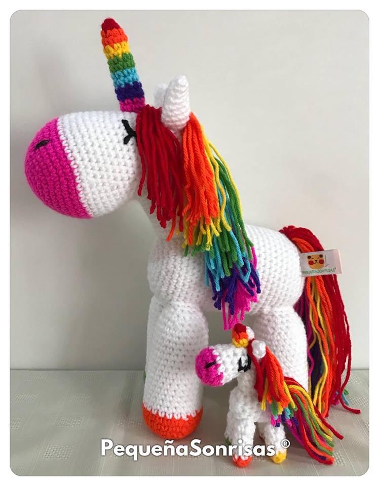 Probando nuevos modelos... Les gusta este unicornio mini mini? Es ... | 960x748