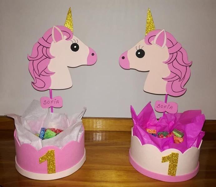 43a1da4c5 Unicornio Cartel Cumple Infantil De Goma Eva - $ 200,00 en Mercado Libre
