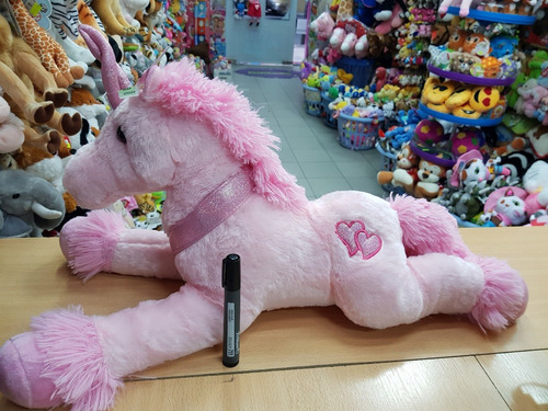 unicornio de peluche 62 cm grande calidad funny land !!!
