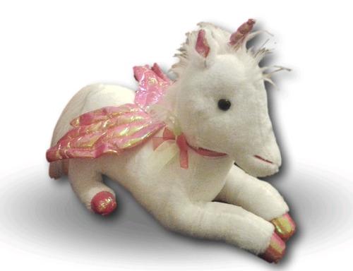 unicornio de peluche