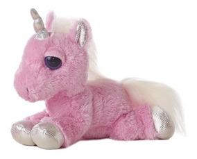 Aurora World Dreamy Eyes Plush Pink Gator with Magical Sound Inc 17106