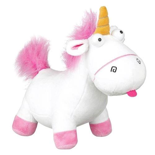 unicornio de peluche con sonido 45cm mi villano favorito
