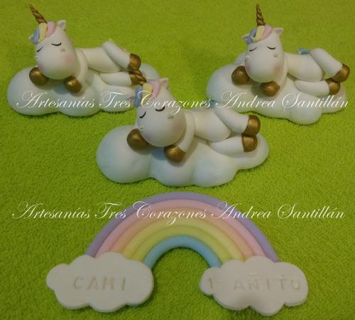 unicornio decoración  adorno de torta colores pasteles !!