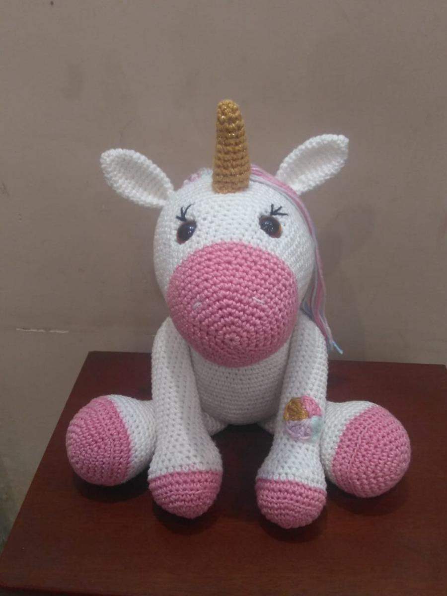 Amigurumi Unicornio de Croche . . . #artesando #artesanatocomamor ... | 1200x900