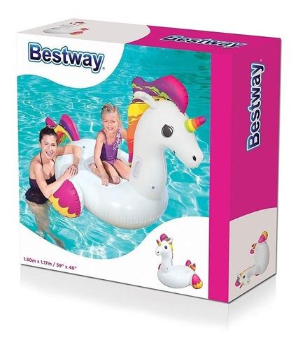 unicornio flotador gigante inflable bestway pileta oferta!