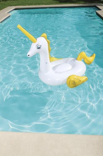 unicornio inflable 165 x 145 cm bestway 41104 pileta edu ful