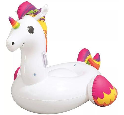 unicornio inflable bestway colchoneta pileta juguete