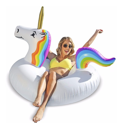 unicornio inflable gigante
