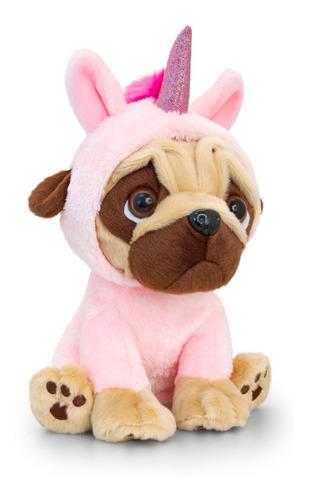 unicornio peluche pugsley disfrazado 25cm  san valentin