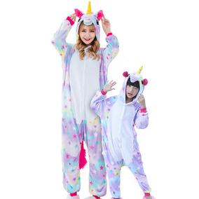a487abbbd2e9a2 Unicórnio Pijama Kigurumi Cosplay - Brinde Necessaire