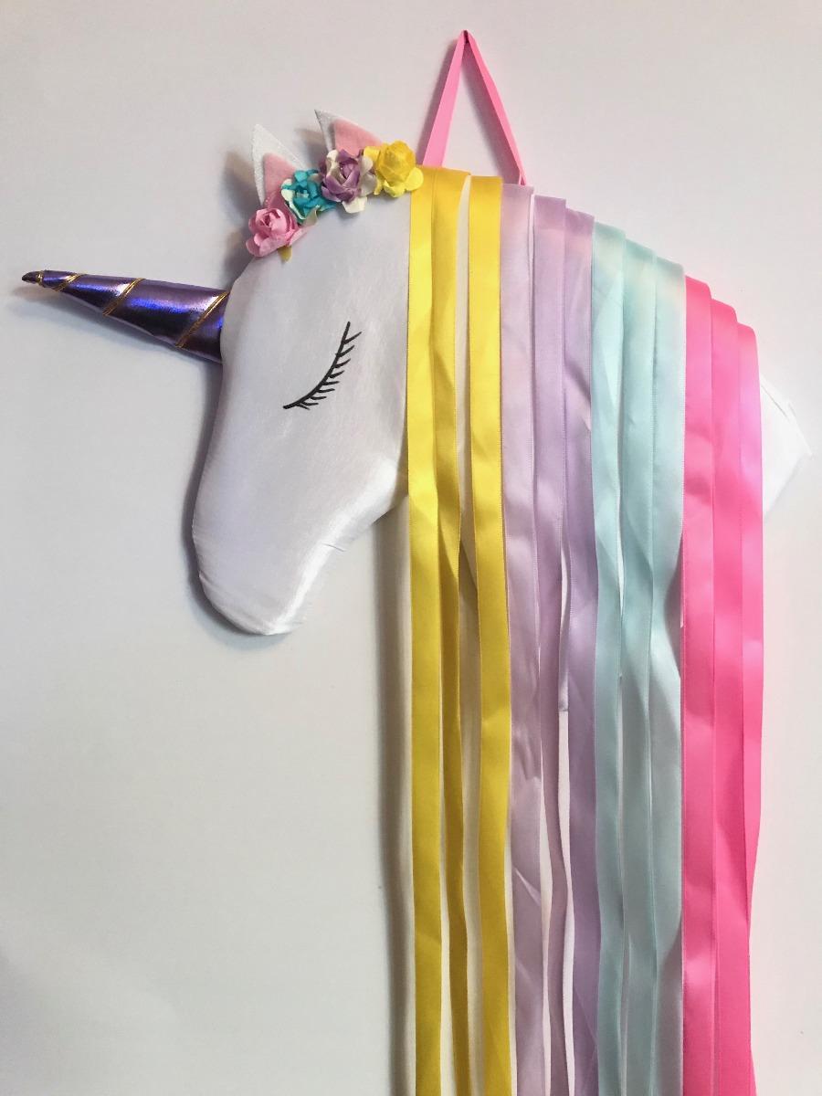 Unicornio Unicorn Organizador Porta Moño Portamoño