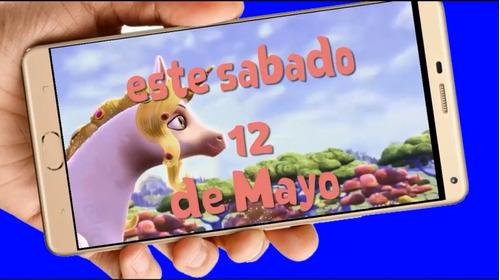 unicornio vídeo tarjeta invitación digital cumpleaños
