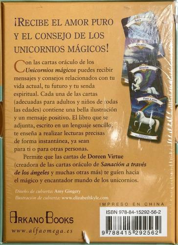 unicornios mágicos, 44 cartas y guía de intrucciones