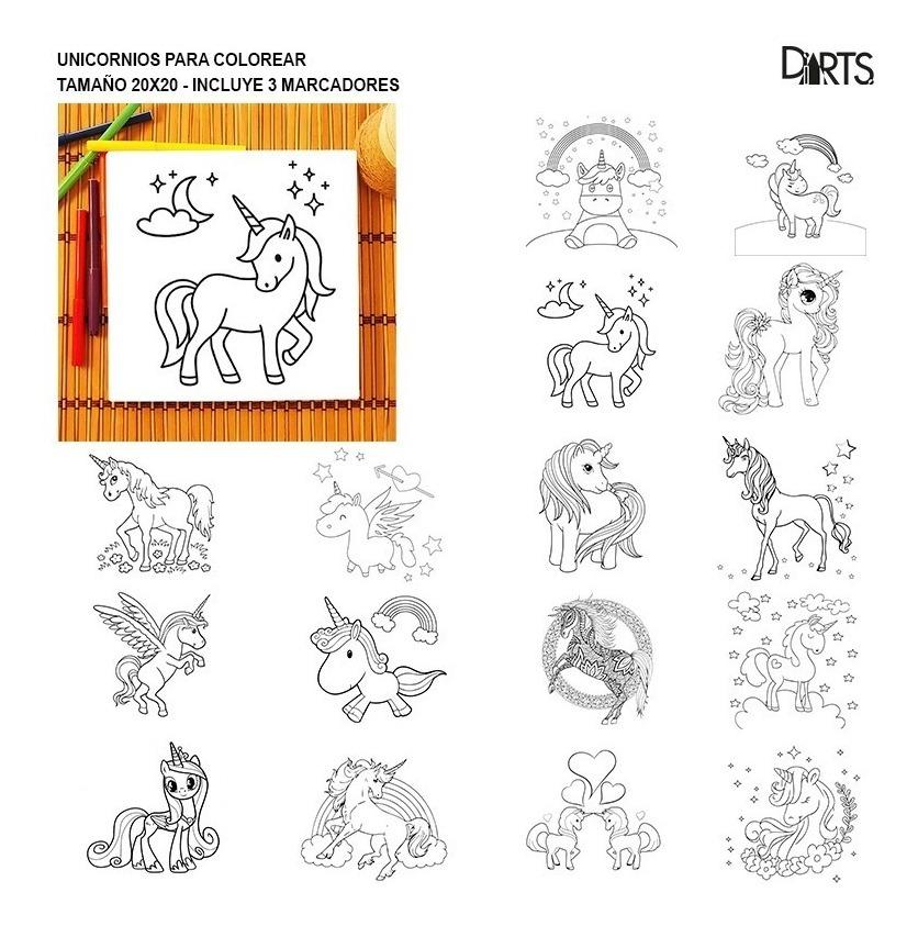 Unicornios Para Pintar Cuadros De Tela