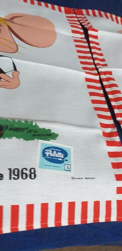 #unicos repasadores palette del  topo gigio  - decada '70 -