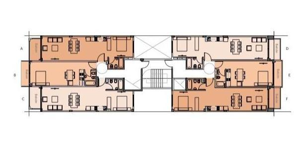 unidad 2 ambientes en start residence · animate a una nueva vida !