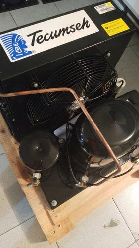 unidad 2 hp r-22 ph1 tecumseh frances 220 volt 1.500 green !