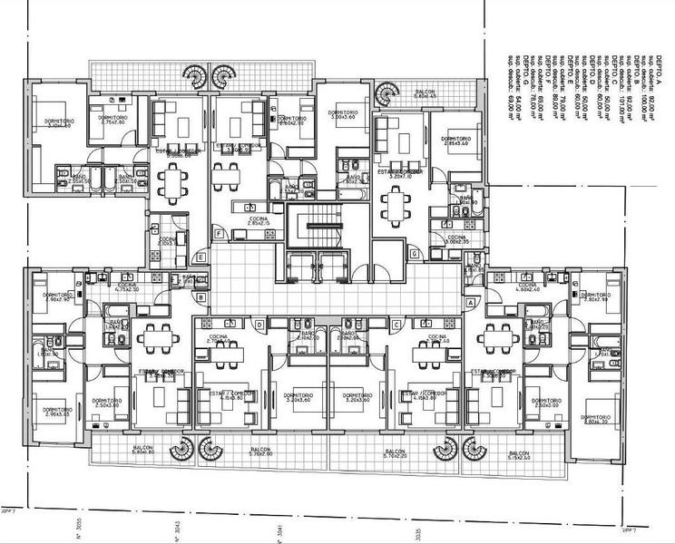 unidad 3 ambientes c/ terraza - washington 3000 - en pozo