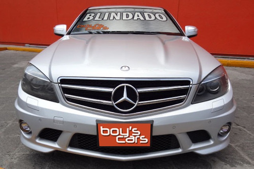 unidad blindada mercedes benz c63 2009 blindado nivel 3 plus