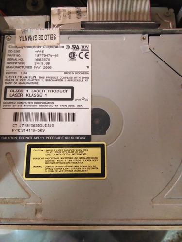 unidad de cd compaq