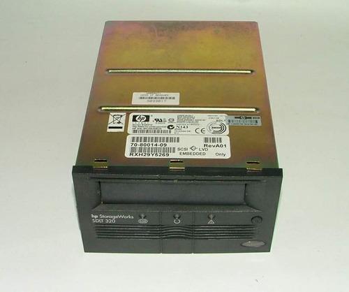 unidad de cinta hp 160/320gb sdlt 320  sdlt i back up